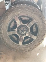 "XD811 Rockstar 20"" set of rims and tires in Alexandria, Louisiana"