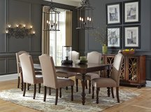 7 Piece Dining Set in Camp Lejeune, North Carolina
