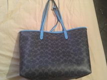 Reversible Coach purse in Yorkville, Illinois