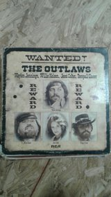 Wanted! The outlaws LP record in Cleveland, Texas