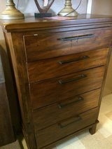 FIVE DRAWER CHEST W/MINOR DAMAGE in Alamogordo, New Mexico