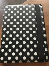 Black & white polka dot iPad Air cover in Warner Robins, Georgia