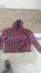 red and black woven hoodie in Barstow, California