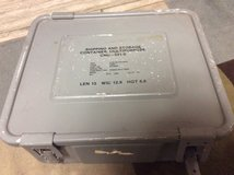 Gray military Storage box in Ramstein, Germany