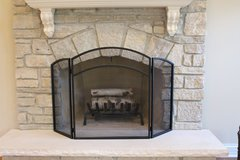 Excellent Condition- Fireplace Screen for Sale!! in Tinley Park, Illinois