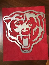 Chicago Bears Steel/Metal Sign in Yorkville, Illinois