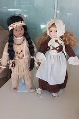 Thanksgiving Porcelain doll set in Barstow, California