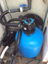 Pool pump and sand filter system in Ramstein, Germany