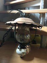 2 copper lamps with ceramic, old style in Ramstein, Germany