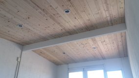 Pine tongue and groove installed in 29 Palms, California