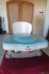 Fisher Price Healthy Care Deluxe Booster Seat in Ramstein, Germany