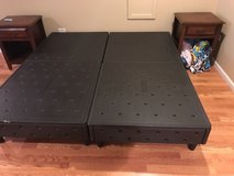 sleep number king size bed frame in Naperville, Illinois