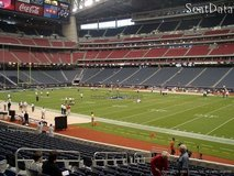 TEXANS - COLTS LOWER LEVEL SEATS PLUS YELLOW PARKING - BELOLW FACE VALUE!!! - $250 in Sugar Land, Texas