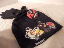 Brand New Angry Bird Hat and Gloves in Yorkville, Illinois