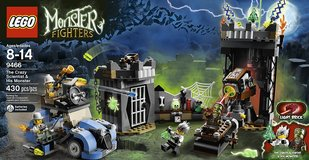 Lego Monster Fighters #9466 - the Crazy Scientist and His Monster in Algonquin, Illinois