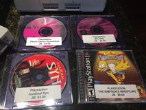 4 Playstation Games, 1 Memory Card & 2 Multi-Player Adapters in Naperville, Illinois