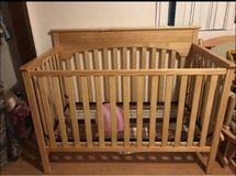 crib and matching changing table in Olympia, Washington