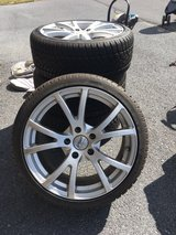 tires and wheels 225/40R18 (new) in Watertown, New York