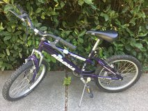 Boys bike in Fairfield, California