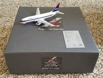 Herpa Wings Premium Delta Boeing 737 1:200 scale aircraft model in Perry, Georgia
