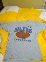 Steve McNair Kevin Donnalley Signed Jersey XL Houston Oilers Tenn Titans NWT in Hopkinsville, Kentucky