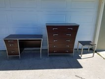 Dresser, desk and end table in Vacaville, California