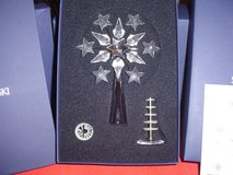 "Swarovski ""Crystal Seasons"" Christmas Tree Topper in Rhodium 632784 in Ansbach, Germany"