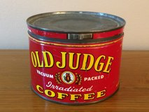 Old Judge Coffee Can in Algonquin, Illinois