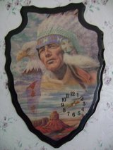 Native American Themed Arrowhead Wall Clock in Leesville, Louisiana