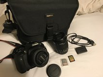 Canon EOS Rebel T6i DSLR bundle in Perry, Georgia