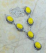 """New - Yellow Agate 19.25"""" Necklace in Alamogordo, New Mexico"""