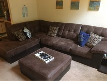 BRAND NEW SECTIONAL WITH OTTOMAN in Savannah, Georgia