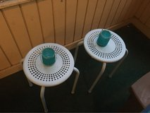 porch side tables in Savannah, Georgia