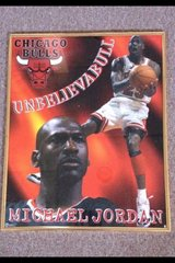Michael Jordan framed poster in Orland Park, Illinois