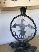 Antique Wrought Lamps in Yucca Valley, California
