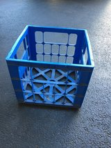 Blue Storage Crate in Plainfield, Illinois