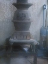 Cast Iron Pot Belly Stove in Yucca Valley, California
