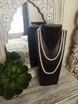 Faux pearl necklace large in Okinawa, Japan
