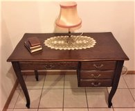 Louis XV French Provencal Writing Desk / Bureau Plat / Office Table in Ramstein, Germany