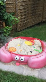 """Priced to sell: Sandbox """"Crabbie """" by 2STEP in Ramstein, Germany"""