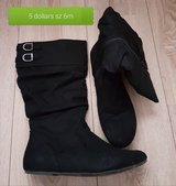 Black boots in Ramstein, Germany
