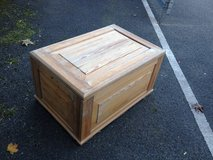 Large Wooden chest in Lakenheath, UK