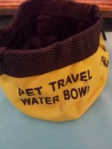 Pet travel water bowl in Hinesville, Georgia