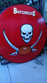 Buccaneers Sports Table in Tampa, Florida