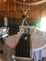 Wedding table runners (Navy lace) in Fort Campbell, Kentucky
