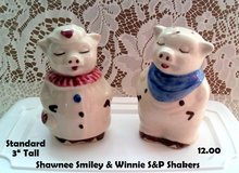 New Price!! Shawnee Smiley & Winnie Salt & Pepper Shakers in DeKalb, Illinois