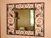 iron framed mirror in Oswego, Illinois