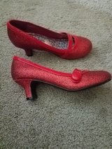 Cute Red Heels for Girls size 1 Youth in Warner Robins, Georgia