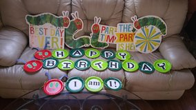Hungry caterpillar birthday supplies in Chicago, Illinois