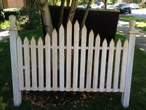 Queen size White Picket Fence Headboard in Westmont, Illinois